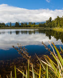 Lake Matheson near Fox Glacier South Island New Zealand Stock Photography