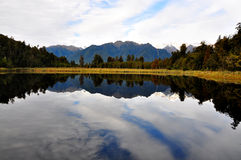 Lake Matheson, New Zealand Stock Photo
