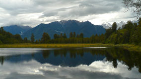 Lake Matheson New Zealand Panoramic Stock Images