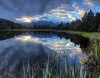 Lake Matheson Royalty Free Stock Photos