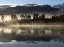 Lake Mathison New Zealand Royalty Free Stock Image
