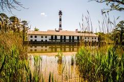 Lake mattamuskeet lighthouse Stock Image