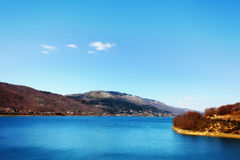Lake Mavrovo Royalty Free Stock Images