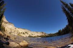 The lake May in Yosemite. Stock Photo