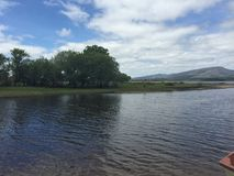 Lake in Mayo Ireland Stock Photo