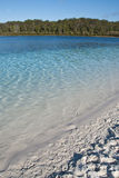 Lake Mc Kenzie, Fraser Island, Australia. The clear water of this amazing lake viewed from the beach Stock Photography
