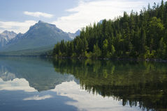 Lake McDonald. In Glacier National Park Royalty Free Stock Photography