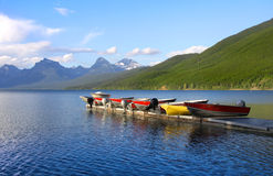 Lake McDonald Royalty Free Stock Photos