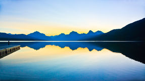 Lake McDonald, Glacier National Park Royalty Free Stock Photos