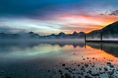 Lake McDonald Royalty Free Stock Image