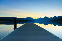 Lake McDonald, Glacier National Park, Montana Stock Image