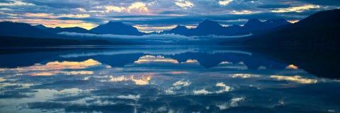 Lake McDonald in Glacier National Park, Montana, USA Royalty Free Stock Photos