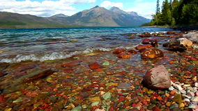 Lake McDonald Glacier National Park Stock Image