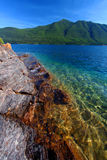 Lake McDonald of Glacier Park Stock Photo