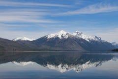 Lake McDonald Perfect Reflection Royalty Free Stock Image