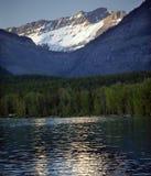 Lake McDonald Snow Mountain Glacier National Park Stock Photography