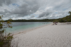 Lake McKenzie Beach Royalty Free Stock Images
