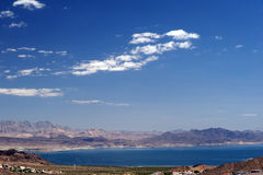 Lake Mead. Scenic view of Lake Mead - Nevada Stock Image
