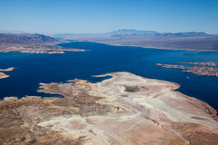 Lake Mead Aerial View Stock Photo