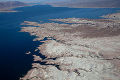 Lake Mead Aerial View Stock Images