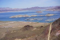 Lake Mead Area - Freshwater Lake Royalty Free Stock Photo