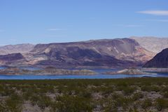 Lake Mead Area - Freshwater Lake Royalty Free Stock Photos