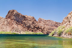 Lake Mead buautiful scene Stock Photo
