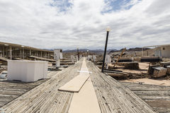 Lake Mead Drought Damage Royalty Free Stock Photo