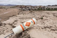 Lake Mead Drought Royalty Free Stock Photos