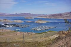 Lake Mead Area - Freshwater Lake Stock Images