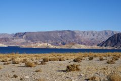 Lake Mead Area - Freshwater Lake Royalty Free Stock Image