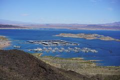 Lake Mead Area - Freshwater Lake Stock Photos