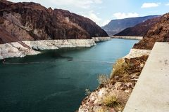 Lake Mead at Hoover Dam Royalty Free Stock Photography