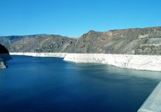 Lake Mead Hoover Dam View Stock Photography
