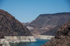 Lake Mead Low Water Stock Photos