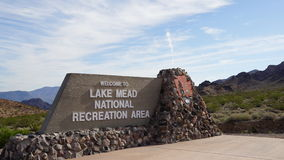 Lake Mead National Park in Nevada Royalty Free Stock Photography