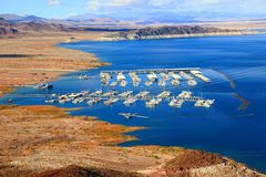 Lake Mead National Recreation Area, Nevada, USA royalty free stock photography