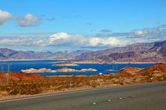 Lake Mead National Recreation Area, Nevada, USA royalty free stock photo