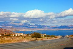 Lake Mead National Recreation Area, Nevada, USA royalty free stock photos