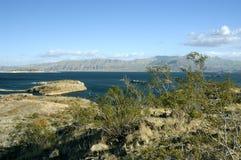 Lake Mead near Hoover Dam Stock Image