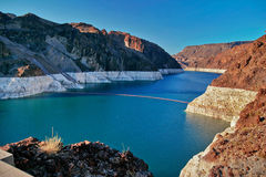 Lake Mead near Hoover Dam Stock Photos