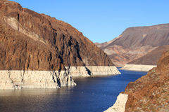 Lake Mead in Nevada Stock Images