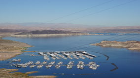 Lake Mead in Nevada Stock Photography
