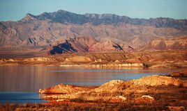 Lake Mead. This is a photo of lake mead nevada Stock Images
