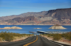 Lake Mead recreation area Royalty Free Stock Photo