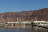 Lake Mead recreation area in Boulder City, NV on January 30, 201 Royalty Free Stock Photo