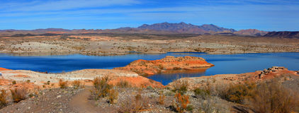 Lake Mead. Recreation area in Nevada Royalty Free Stock Images