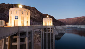 Lake Meade The Colorado River Hoover Dam Neveda Arizona Royalty Free Stock Photography