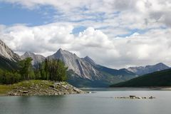 Lake Medicine in Jasper Royalty Free Stock Photography