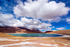 Lake Meniques in Chile Stock Photo